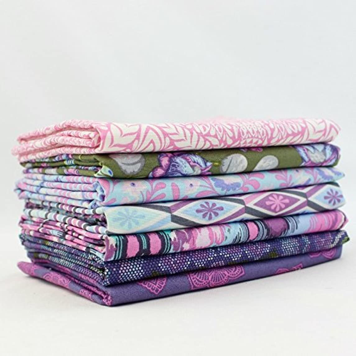 Eden Amethyst Half Yard Bundle (TP.ED.AM.7HY) by Tula Pink for Freespirit