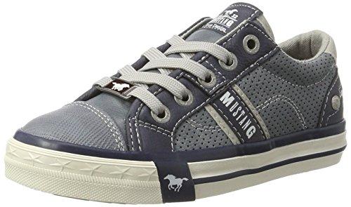 MUSTANG 5024-302 Low-Top Sneaker, Blau (875 Sky), 37 EU