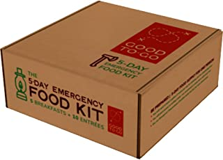 GOOD TO-GO 5-Day Emergency Food Supply | Dehydrated Survival Food | Backpacking and Camping Food | Lightweight | Easy to P...