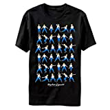 Napoleon Dynamite Dance Moves Canned Heat Pedro Moon Boots Adult T-Shirt Tee Black