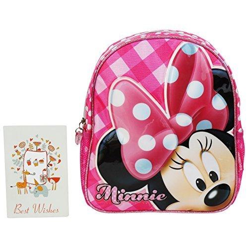 Disney Minnie Infantil Zaino Bambina Asilo Scuola Infantil Portapranzo