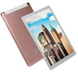 FJYDM Tableta Tableta Desbloqueada con Android 3G De 10.1 Pulgadas con Ranuras para Tarjetas SIM Dobles, Tableta con Pantalla IPS, 2 GB De RAM, 32 GB De ROM, 8 Núcleos, Bluetooth, GPS,Rosado