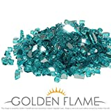 Golden Flame Fire Glass Parent New