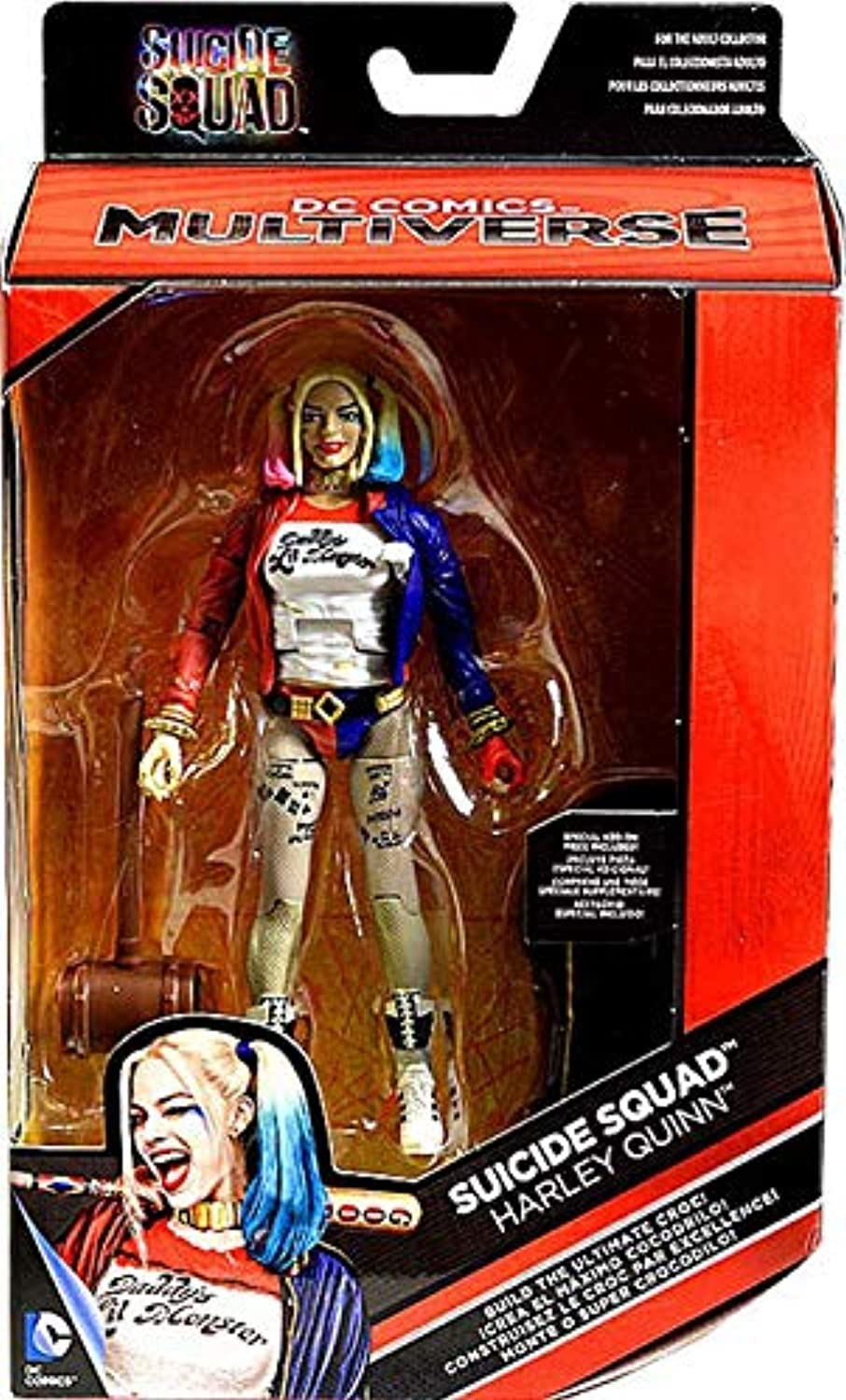 DC Multiverse, Suicide Squad, Harley Quinn Exclusive Action Figure, 6 Inches by DC