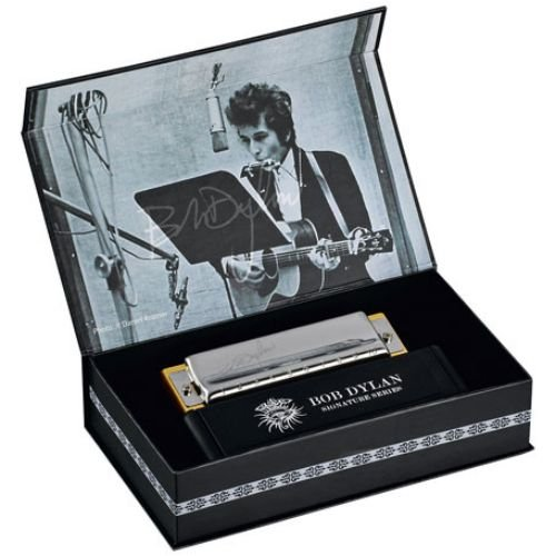 Hohner Harmónica Signature C Bob Dylan