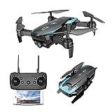 Mini Drone Pliable avec 0.3MP Caméra HD WiFi FPV Helicoptère Télécommandé avec Mode sans Tête, Maintien d'altitude,Vol de...
