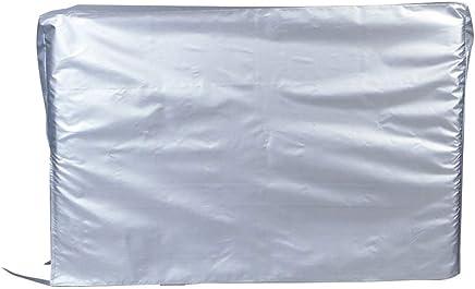 OUNONA エアコン室外機カバー エアコンカバー 室外用 保護カバー 日除け 防塵 撥水加工 94x41x70cm