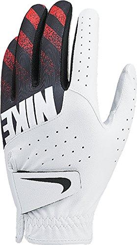 Nike NikeGolf Golf Gloves Sports Gloves Left Hand Wear Men's White/Black/MaxOrange (24cm(ML))