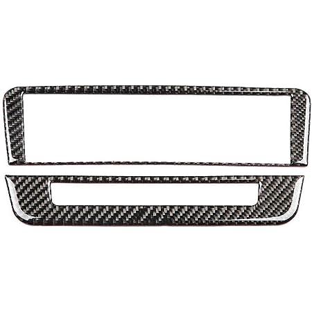 Rockyin Carbon Faser Cd Klimaanlage Control Panel Abdeckung Trim For Mercedes Benz A B Gla Cla Deutsch Auto
