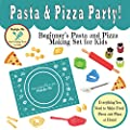 Pasta & Pizza Party! Beginner's Pasta & Pizza Making Set for Kids with Step-by-step Easy Recipes and Instructions - Ships FAST and FREE!
