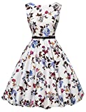 GRACE KARIN Women Cocktail Dresses Floral Printed Sleeveless Size M F-22