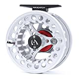 Maxcatch BLC Fly Reel,Large Arbor Fly Fishing Reel with Diecast Aluminum Body(5/6, 7/8wt)