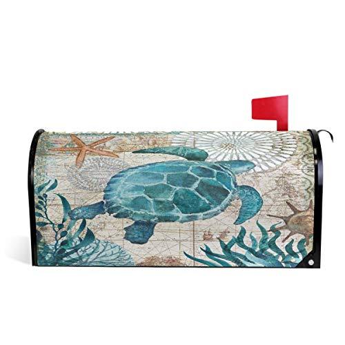 Oarencol Briefkasten-Abdeckung, magnetisch, groß, für den Garten, Hof, Hausdekoration, Übergröße 63,5 x 53,3 cm
