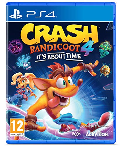 PS4 - Crash Bandicoot 4: It's About Time - Import espagnol