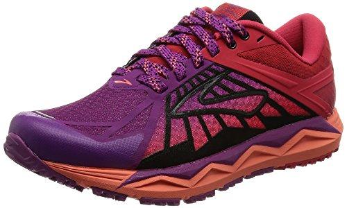brooks Caldera, Zapatos para Correr para Mujer, Multicolor (Hollyhock/Lollipop/Black), 36.5 EU