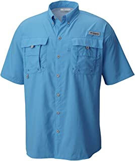 Men's PFG Bahama II Short Sleeve Shirt, Yacht, X-Large