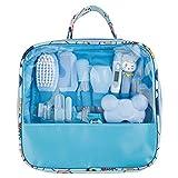 YHNHT Kit de cuidado de la salud del bebé, kit de cuidado del bebé, kit de aseo del bebé, set de seguridad para el cuidado de la salud 13 en 1 productos para el cuidado del bebé, cortaúñas