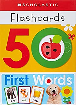 50 First Words Flashcards  Scholastic Early Learners  Flashcards
