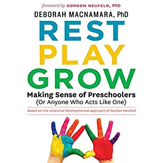 Rest, Play, Grow     Making Sense of Preschoolers (Or Anyone Who Acts Like One)              Written by:                                                                                                                                 Dr. Deborah MacNamara                               Narrated by:                                                                                                                                 Dr. Deborah MacNamara                      Length: 8 hrs and 3 mins     35 ratings     Overall 4.7