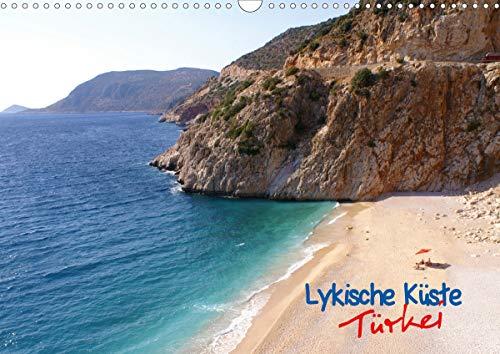 Lykische Küste, Türkei (Wandkalender 2021 DIN A3 quer)