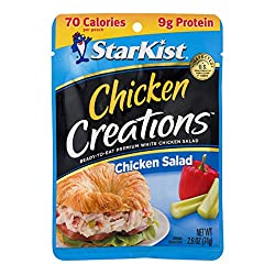 StarKist Chicken Creations Chicken Salad - 2.6 oz Pouch (Pack of 12)
