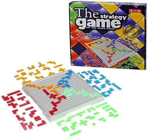 LAVILI ボードゲーム ブロックス 2~4人用 知育玩具 子供用 パズルゲーム 対戦