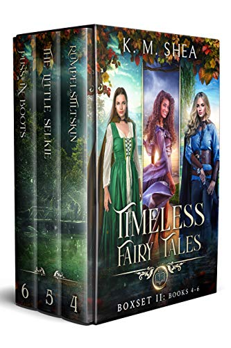 Timeless Fairy Tales: Books 4-6: Rumpelstiltskin, The Little Selkie, Puss in Boots (Timeless Fairy Tales Boxset Book 2) (English Edition)