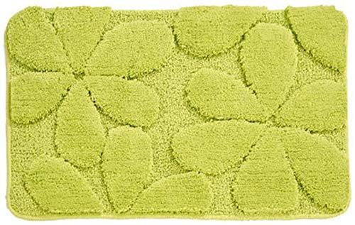 Cojín de baño antideslizante, puede ser laminado y suave almohadilla de baño absorbente de fibra ultrafina, adecuada para dormitorio/sala de estar/baño,Green