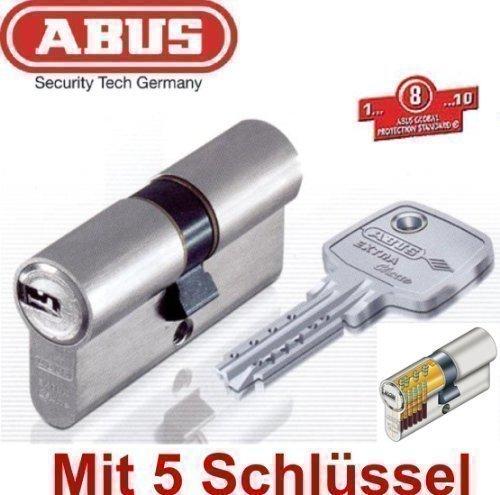 ABUS EC750 Extra Classe Profil-Zylinder 35/35 mm, mit Not- und Gefahrenfunktion, inkl. 5 Schlüssel