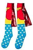 TruffleShuffle Wonder Woman Kniestrmpfe mit Umhang