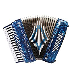 Rossetti Accordion (ROS3472-BL) - Best Piano Accordions