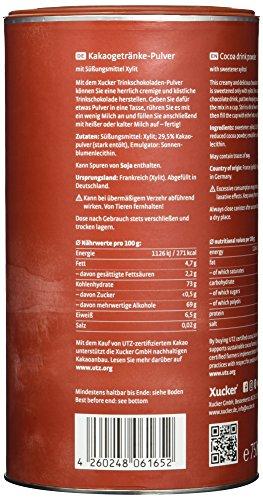 Xucker Trink-Schokolade nur mit Xylit 750 g - 5