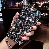 Luxe Diamant Coque pour Galaxy S6 Edge Plus, Misstars Transparente Bling Glitter Housse de Protection Souple TPU et Hard PC...