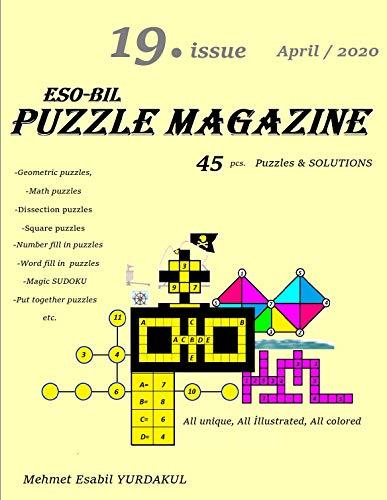 Eso-Bil PUZZLE MAGAZINE 19. Issue, April / 2020 (English Edition)