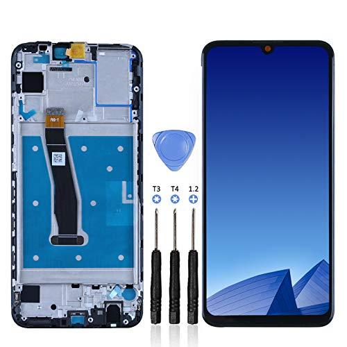 LL TRADER Bildschirm für Huawei P Smart 2019 Display mit Rahmen 6,21