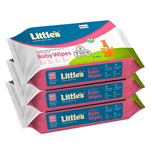 Littles Soft Cleansing Baby Wipes