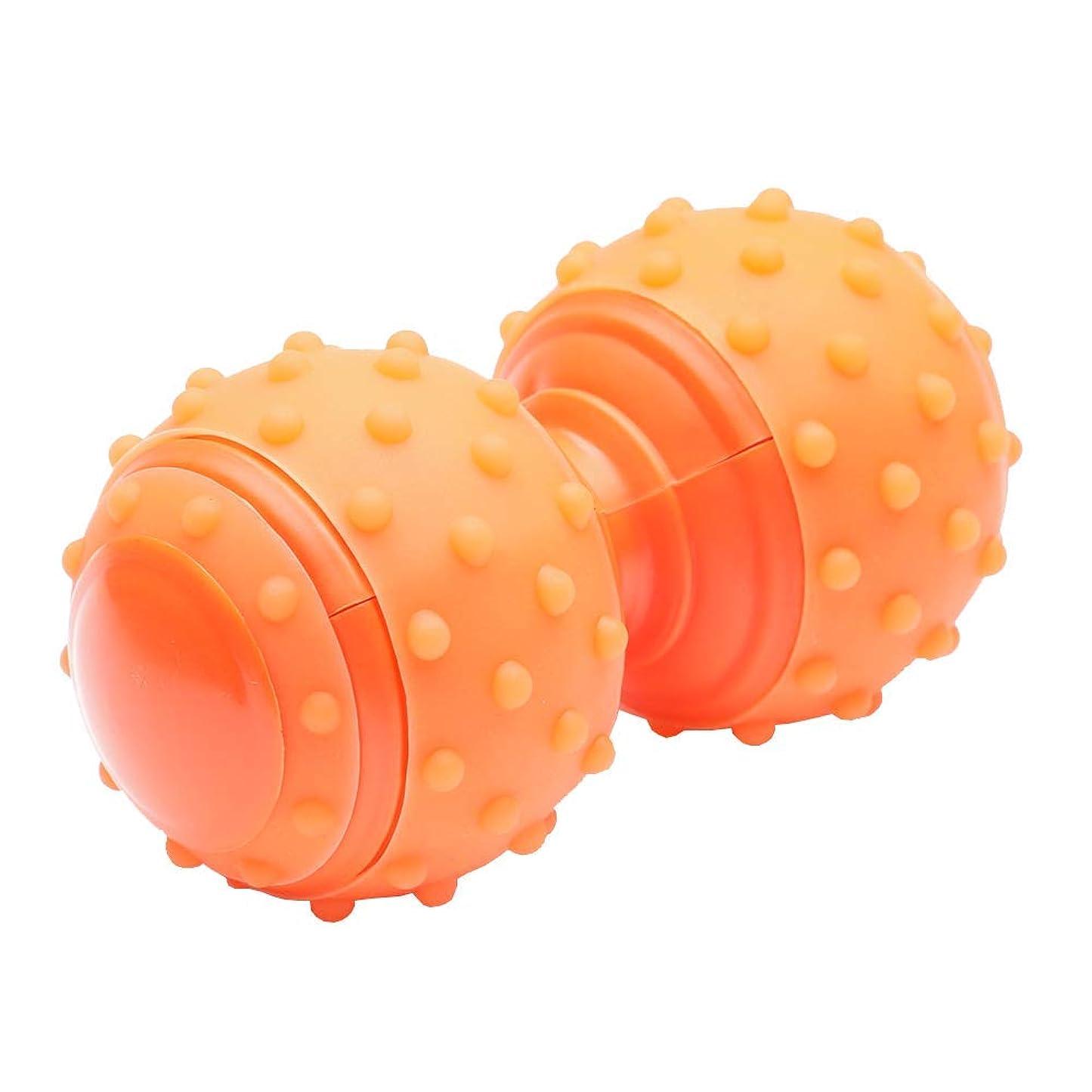 バング同様の実質的MitasakaIs ツボ押し マッサージ ボール 首 肩 肩こり 肩甲骨 背中 トリガーポイント 筋膜リリース オレンジ