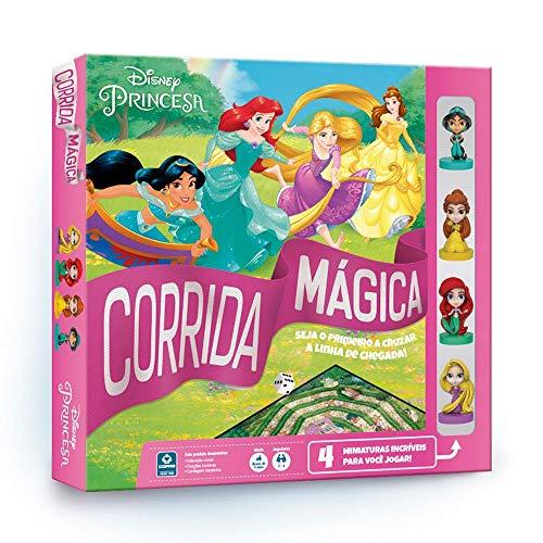 Jogo Corrida Mágica, Princesas, Copag