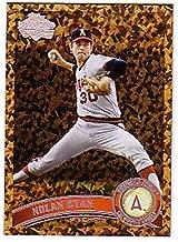 2011 Topps Cognac Diamond Anniversary #626c Nolan Ryan California Angels (Update Series Only) MLB Baseball Card (SP - Short Print) NM-MT