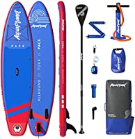 """AQUAPLANET PACE SUP Inflatable Stand Up Paddle Board Kit 