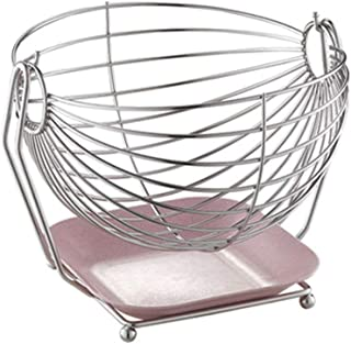 Plat de Fruits Fruit Plate Creative 304 Stainless Steel Fruit Basket Living Room Fruit Plate Household Storage Basket Li F...