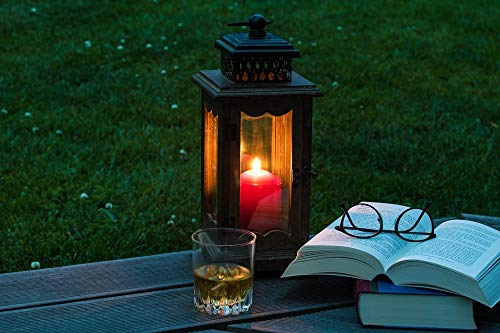 Photography Poster - Lantern, Books, Alcoholic Beverage, Gloss Finish