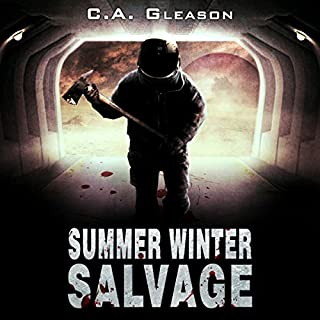 Summer Winter Salvage audiobook cover art