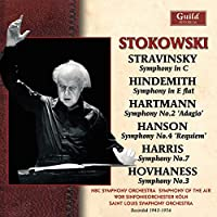 Stokowski Conducts Stravinsky Hundemith Hartmann H