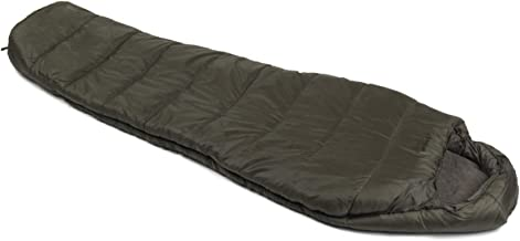 Snugpak Basecamp Ops Sleeper Expedition Sleeping Bag with Compression Stuff Sack, Insulated, Olive