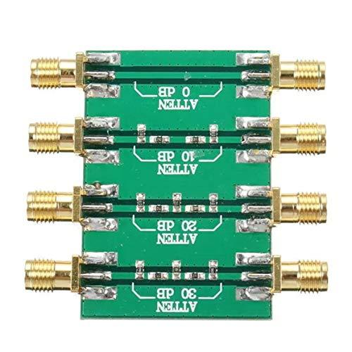 KKAAMYND DC 4.0GHz RF Attenuatore fisso a radiofrequenza massima potenza 23dBm SMA doppia testa femmina 0dB 10dB 20dB 30dB verde 2. Il layout della scheda è ragionevole, bello, poco corrente suono.