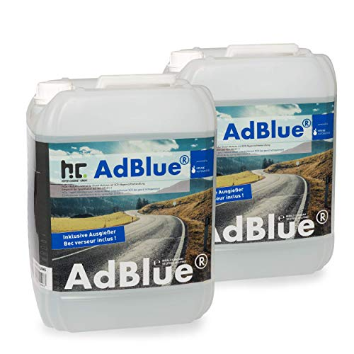 AdBlue® 2 x 10 L - Auto Harnstofflösung von Kruse Automotive verringert Emissionen von Stickstoffoxiden um 90{39a028b184359c0772eeb0e658a4041467bb24cc3810dc87ca01d7d058e8c90e} bei SCR-Systemen - Höfer Chemie