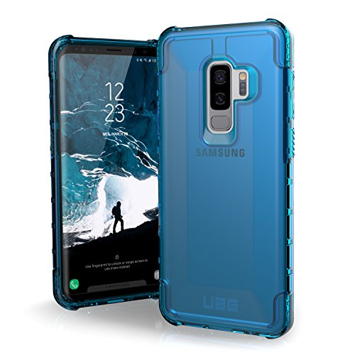Urban Armor Gear Plyo para Samsung Galaxy S9+ / S9 Plus Funda con estándar Militar Estadounidense case [Compatible con inducción] - azul