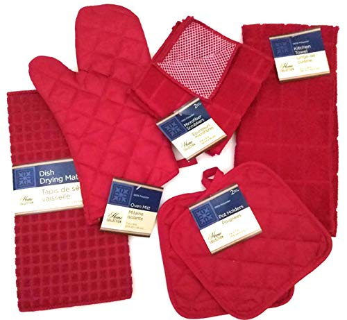 Top 10 Best Selling List for red kitchen towels sets