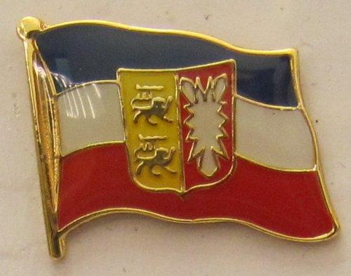 Pin Anstecker Flagge Fahne Schleswig Holstein Landesflagge Flaggenpin Badge Button Flaggen Clip Anstecknadel
